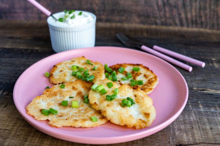 Polish Potato Pancakes - Placki Ziemniaczane