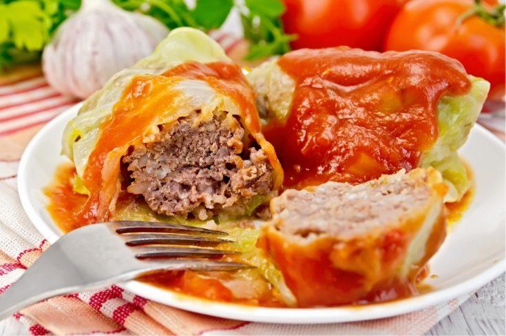 Golabki - Polish Cabbage Rolls