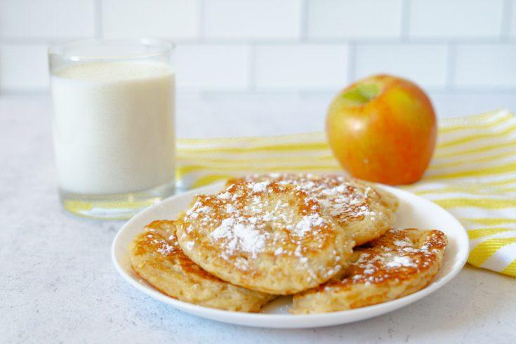 Racuchy: Polish Apple Pancakes