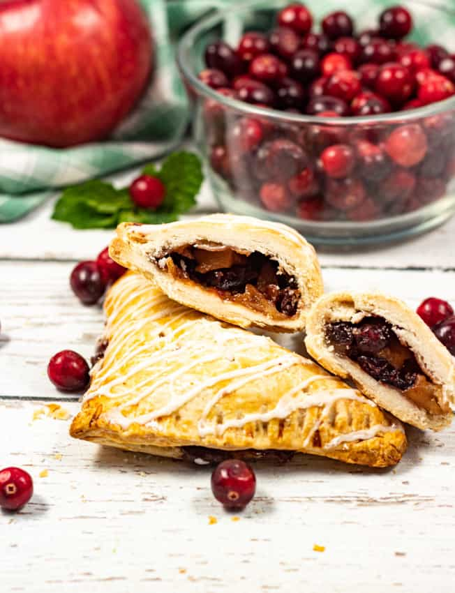 Apple & Cranberry Turnovers
