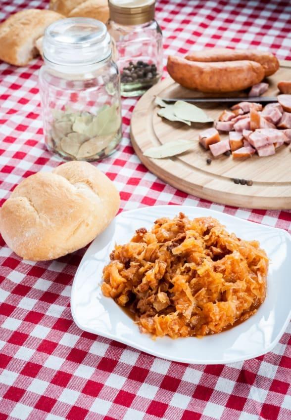 Bigos: Polish Hunter's Stew