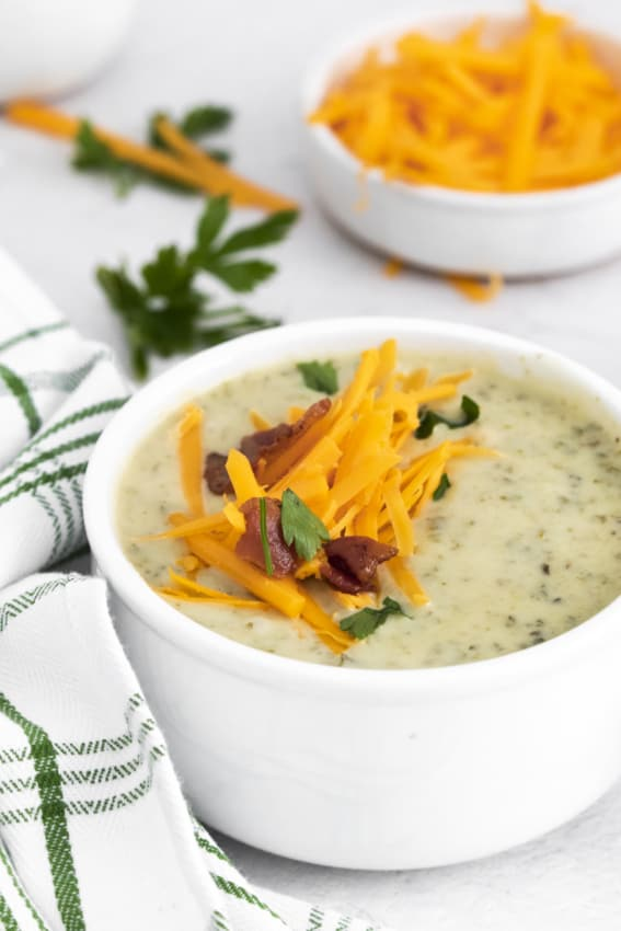 Instant Pot Colcannon Potato Soup