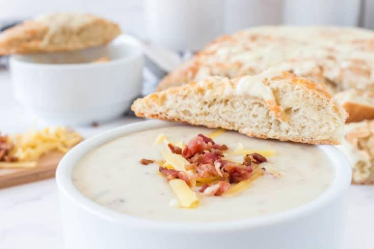 Quick Polish Potato soup